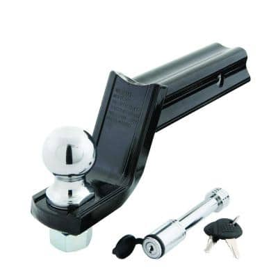 """Class III """"X"""" Mount Security Starter Kit with 2 in. Ball and 5/8 in. Locking Pin, 3-1/4 in. Drop x 2 in. Rise 5000 lb."""