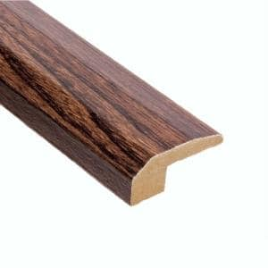 Elm Walnut 9/16 in. Thick x 2-1/8 in. Wide x 47 in. Length Carpet Reducer Molding