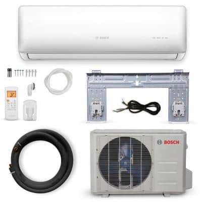 Gen 2 Climate 5000 ENERGY STAR 12,000 BTU 1-Ton Ductless Mini Split Air Conditioner with Heat Pump 230-Volt/60 Hz