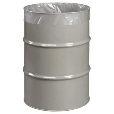 55 Gal. Ultra Heavy-Duty Clear Trash Liners (55-Count)