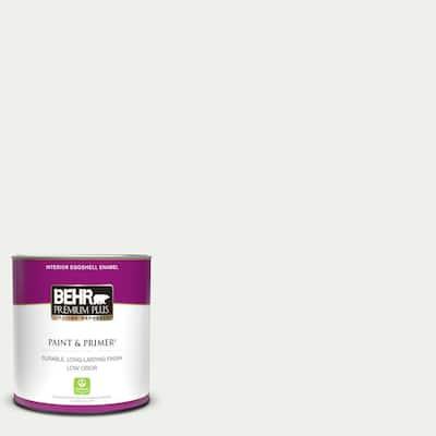 1 qt. #57 Frost Eggshell Enamel Low Odor Interior Paint & Primer