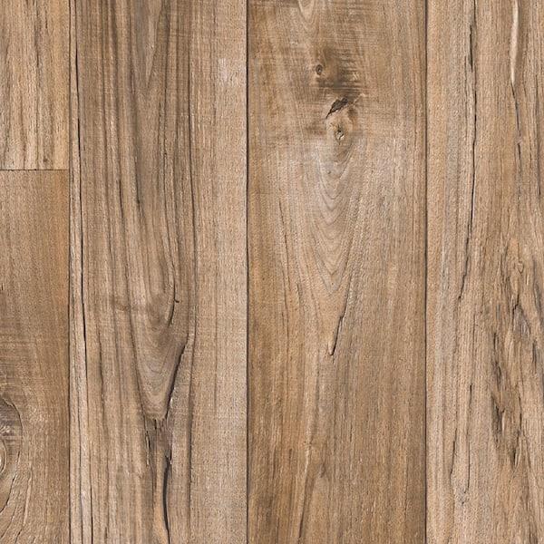 Mohawk Aged Nickel Wood Residential, Laminate Sheet Flooring