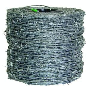 1,320 ft. 15-1/2-Gauge 4-Point High-Tensile CL3 Barbed Wire