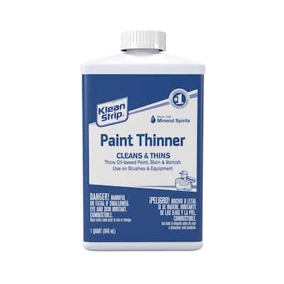 1 qt. Klean Strip Paint Thinner