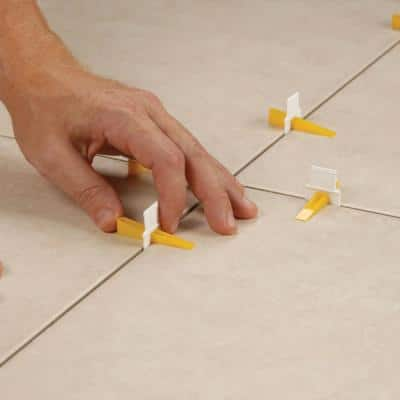LASH Flat Floor and Wall Tile Leveling System, Clips Part A (96-Pack)
