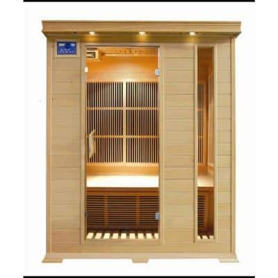 Aspen 3-Person Infrared Sauna with Carbon Heaters