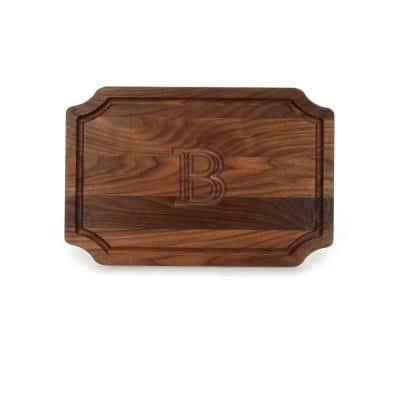 Scalloped Walnut Cutting Board B