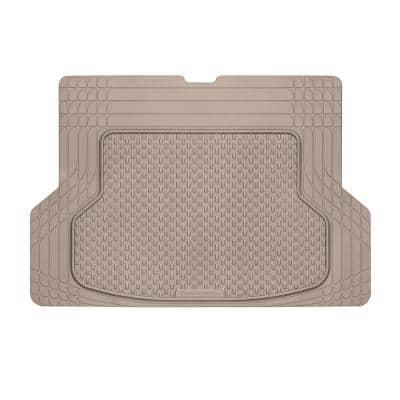 Tan 53 in. x 36 in. Advanced Rubber-like Thermoplastic Elastomer (TPE) Compound Cargo Mat