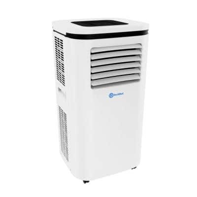 Smart Portable A/C Dehumidifier with App 12,000 BTU (6,000 BTU, DOE) Alexa-Ready and Wi-Fi Enabled (White)