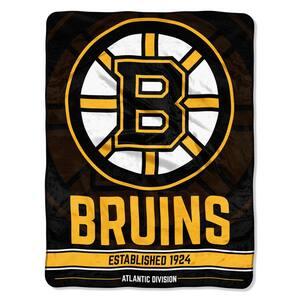 Breakaway Boston Bruins Polyester Twin Knitted Blanket
