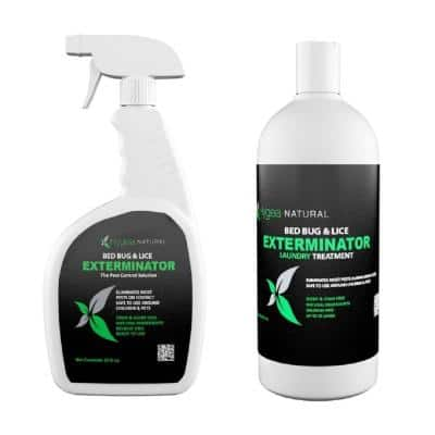 24 oz. Bed Bug Spray and 32 oz. Laundry Additive Combo