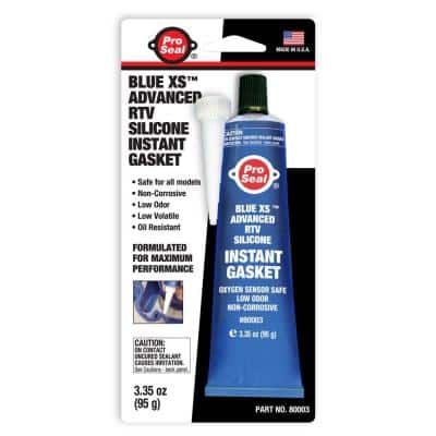 3.35 oz. Blue XS Advanced RTV Silicone Instant Gasket (12-Pack)