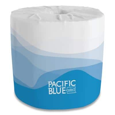 Preference White 2-Ply Embossed Bathroom Tissue (80 Rolls)