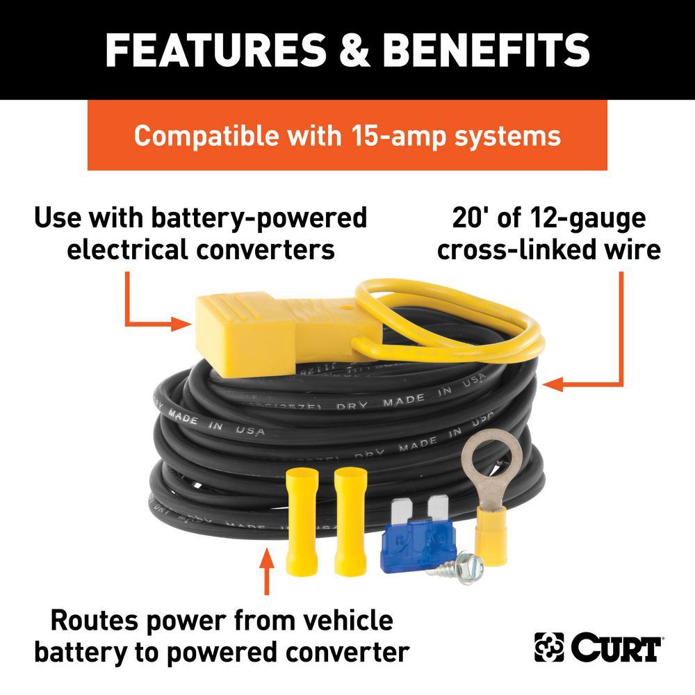 Powered Converter Wiring Kit (15 Amps)