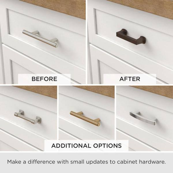 Liberty Harmon 3 In 76mm Center To Center Heirloom Silver Drawer Pull P38470c 904 Cp The Home Depot