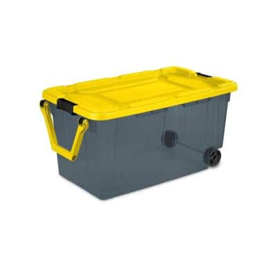 160-Qt. Wheeled Storage Box