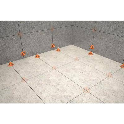 LevelMax Tile Anti-Lippage and Spacing System Flat Stem