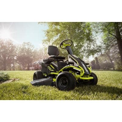 48V Brushless 38 in. 100 Ah Battery Electric Rear Engine Riding Lawn Mower