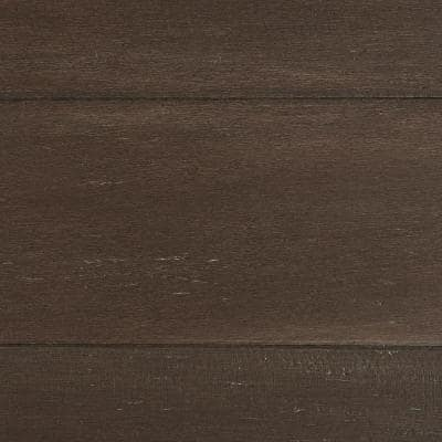 Wire Brushed Strand Woven Sage 3/8 in. T x 5-1/5 in. W x 36.02 in. L Engineered Click Bamboo Flooring (26 sq. ft. /case)