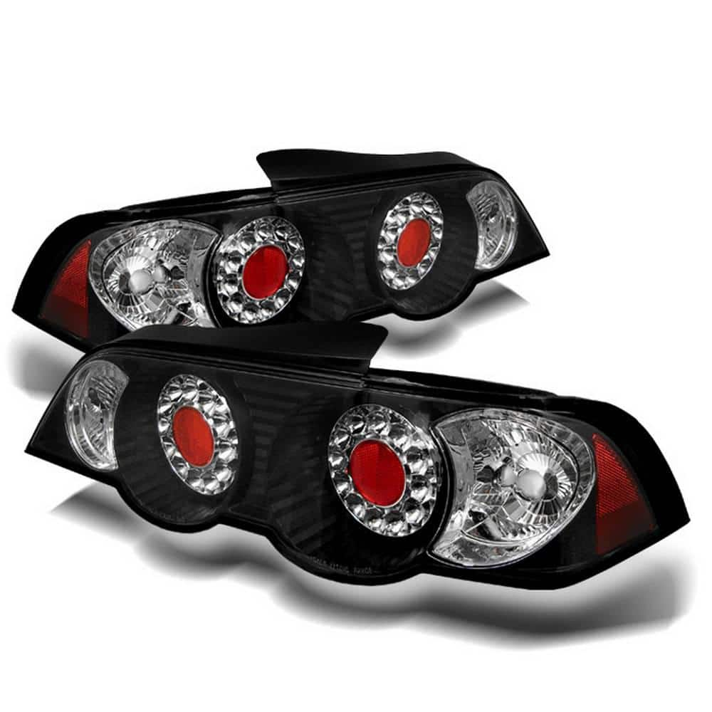 Spyder Auto Acura Rsx 02 04 Led Tail Lights Black 5000361 The Home Depot
