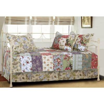 Blooming Prairie Daybed Set, 5-Piece Daybed