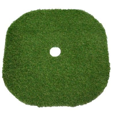 3 ft. x 3 ft. Floating Golf Green Ace Synthetic Golf Mat