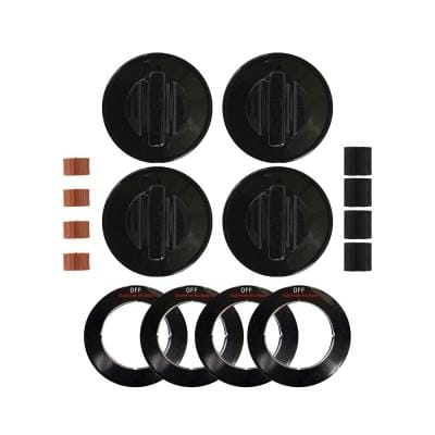 Replacement Knob in Black (4-Pack)