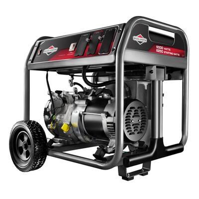 5,000-Watt Gasoline Powered Portable Generator
