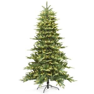 7.5 ft. Pre-Lit Hinged Aspen Fir Christmas Tree with 700 UL-Listed LED Lights