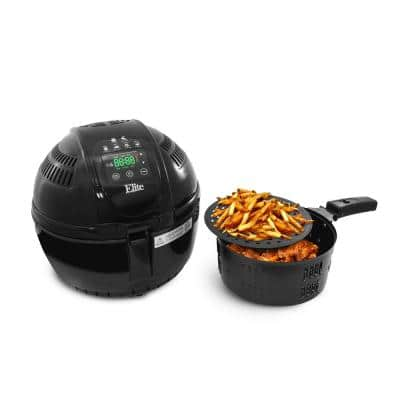 3.5 Qt. Digital Air Fryer in Black