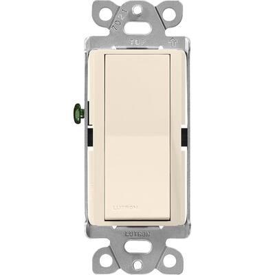 Claro 15 Amp Single-Pole Paddle Switch, Light Almond