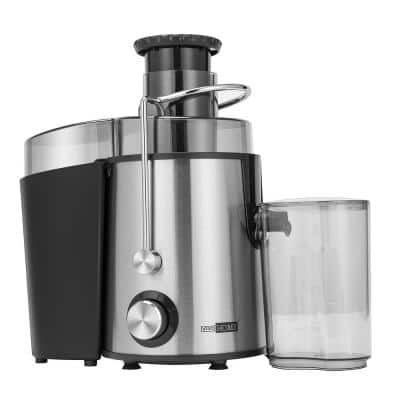 400-Watt 2-Speed Centrifugal Juicer with Safety Lock Arm and Overloading Protection