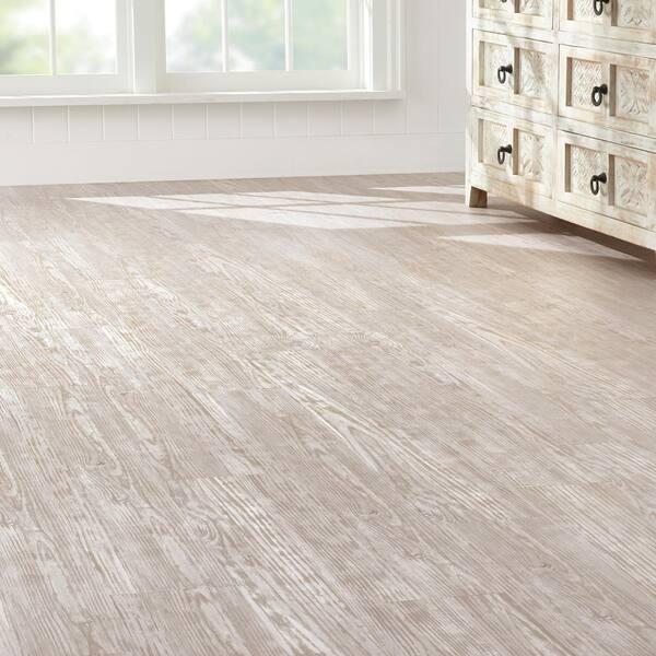 Luxury Vinyl Plank Flooring, Whitewash Laminate Flooring Home Depot