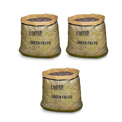 Roots Organics Hydroponics Green Fields Gardening Potting Soil (3-Pack)