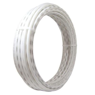 1/2 in. x 50 ft. Coil White PEX Pipe