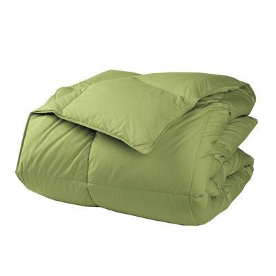 LaCrosse Medium Warmth Fern Green Queen Down Comforter