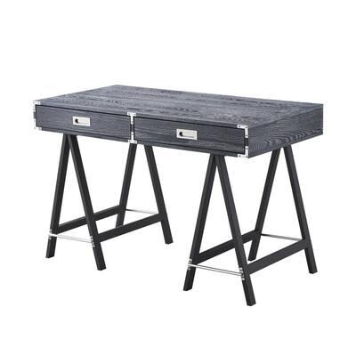 Kawai Black Desk 2-Drawers