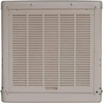 6500 CFM Down-Draft Roof Evaporative Cooler for 2400 sq. ft. (Motor Not Included)