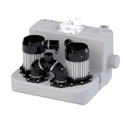 2 x 2 HP Commercial Gray Water Pump