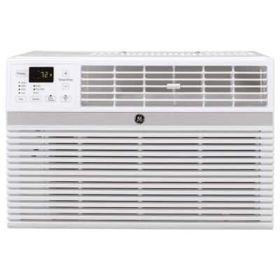 14,000 BTU 115-Volt Smart Window Air Conditioner with Remote in White