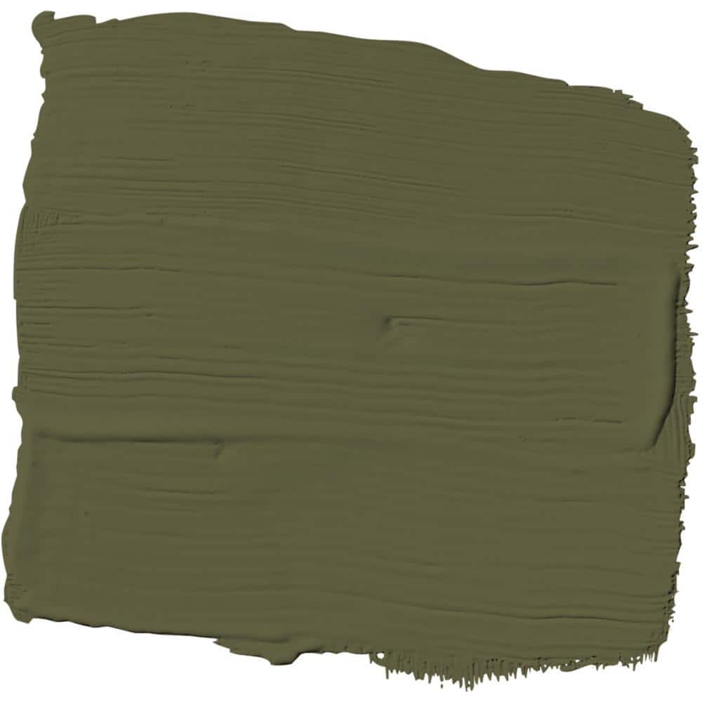 Ppg Timeless 1 Gal Hdppgg26 Olive Green Flat Exterior One Coat Paint With Primer Hdppgg26x 01f The Home Depot