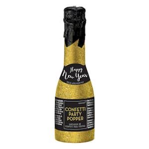 2 in. New Year's Mini Bottle Party Popper