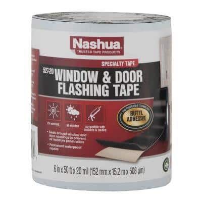 6 in. x 50 ft. Window and Door Flashing Tape