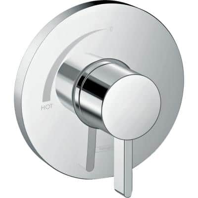 Ecostat S Single-Handle Shower Trim Kit in Chrome Valve Not Included