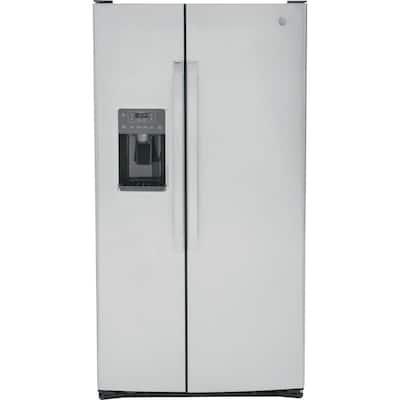 25.3 cu. ft. Side by Side Refrigerator in Fingerprint Resistant Stainless Steel