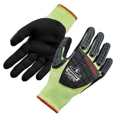 ProFlex L Lime Nitrile-Coated DIR Level 4 Cut-Resistant Gloves