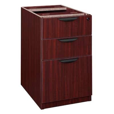 Magons Mahogany Box File Pedestal
