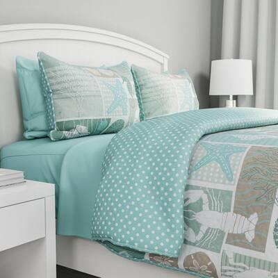 Harbor Town Veranda Hypoallergenic Quilt Bedspread Set