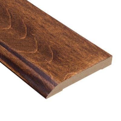Kinsley Hickory 1/2 in. Thick x 3-1/2 in. Wide x 94 in. Length Wall Base Molding