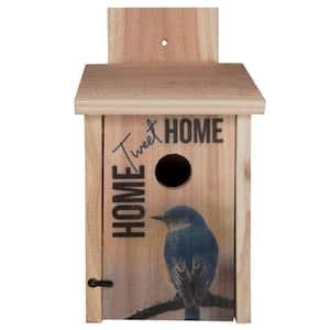 Decorative Home Tweet Home Cedar Blue Bird House